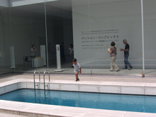 21C Museum: penetrable pool