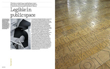"""Legible in public space"" – <em>Eye</em> magazine"