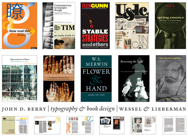Typography Book Designs Book Design Typography
