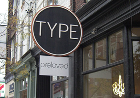 A bookstore called Type