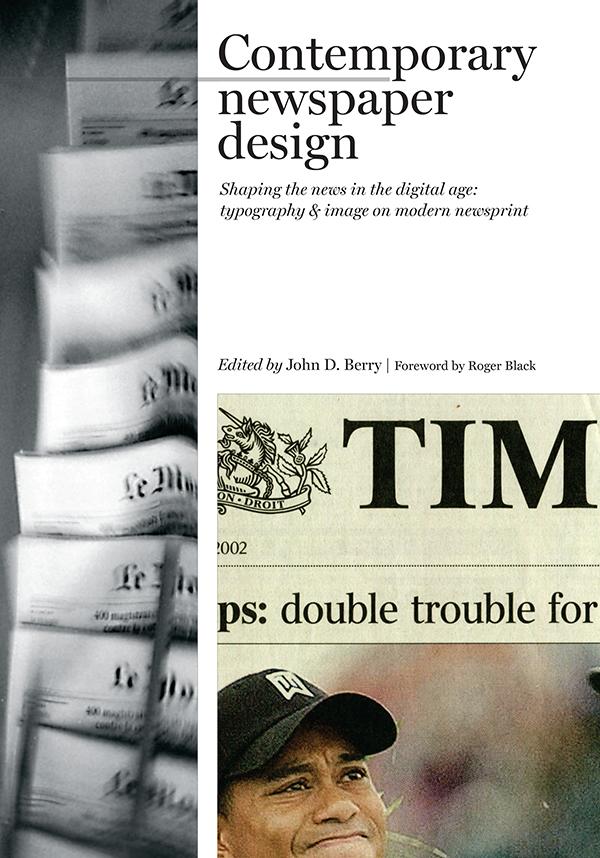 Cover of Contemporary newspaper design